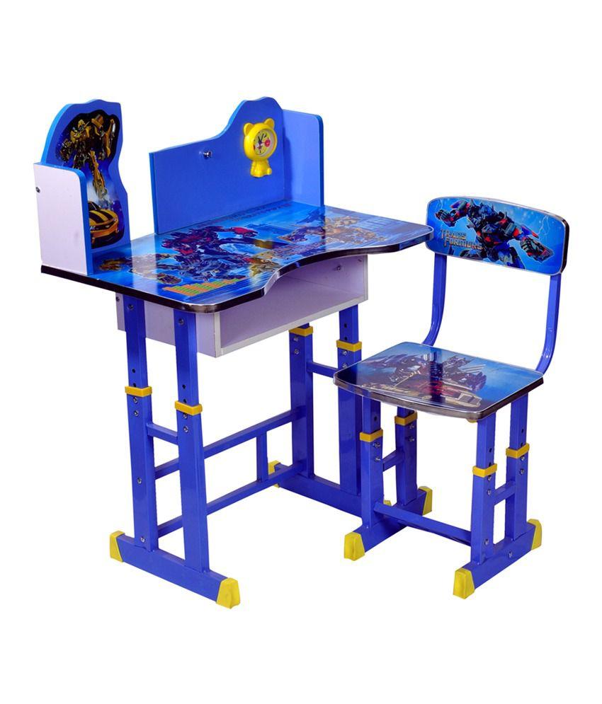 Wood Wizard Transformers Kids Study Table Set Buy Wood