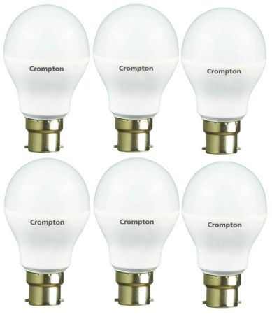 Crompton 7W LED Bulb Pack Of 6