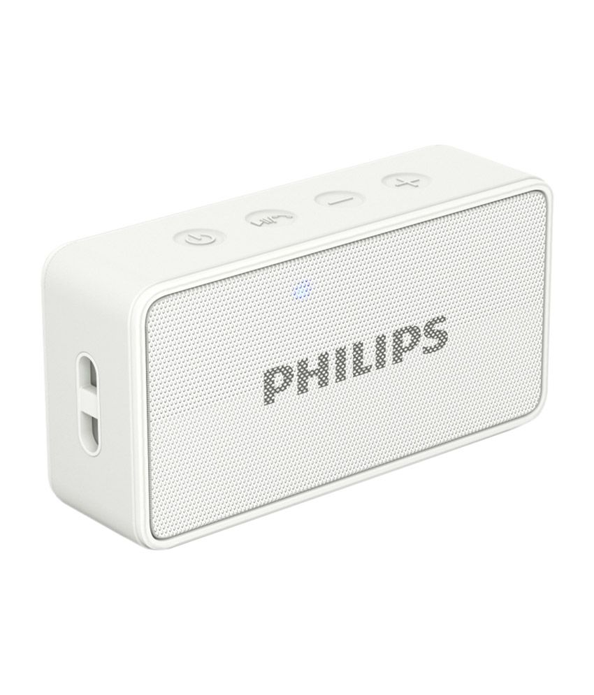 Box Bluetooth Philips Bt64 Bluetooth Speaker White Sound Box