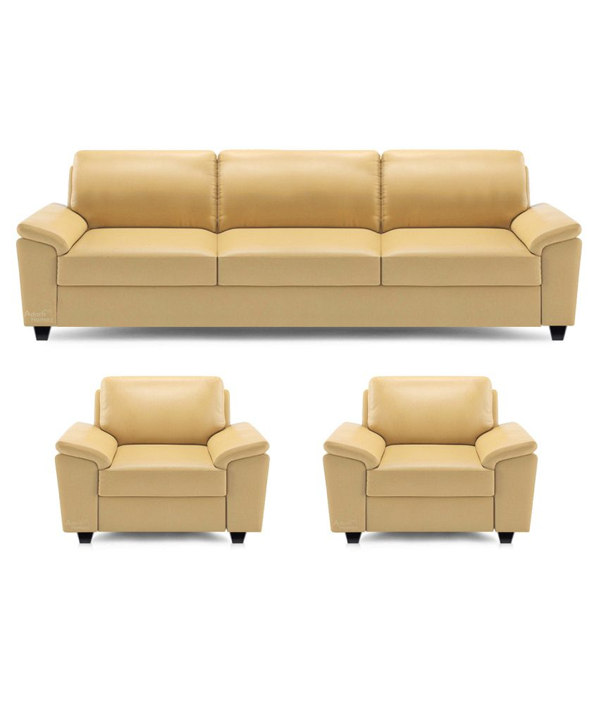 Sofa Set Online Dolphin Oxford Leatherette 3 1 1 Sofa Set