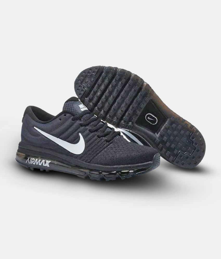 Air Max Running Nike Air Max 2017 Black Running Shoes