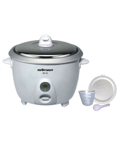 Mellerware RC 01 1.8 -Litre Drum Type Rice Cooker