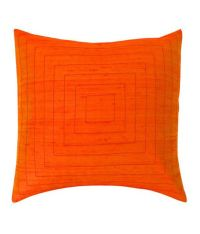 Jiti Pyramid Throw Pillow Silk 20-Inch Square Orange - Buy ...