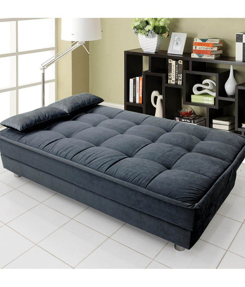 Buy Sofa Bed Online Luxurious Sofa Cum Bed Grey Buy Luxurious Sofa Cum Bed Grey