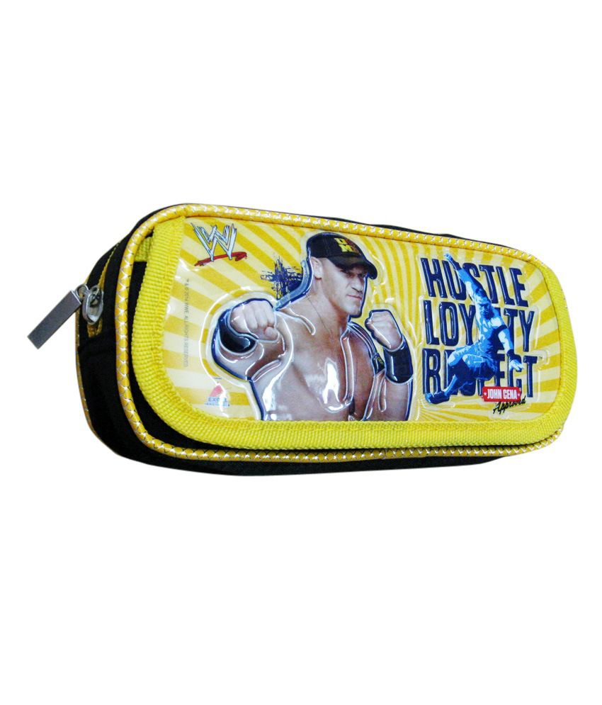 Cena Online Wwe Black And Yellow John Cena Pouch