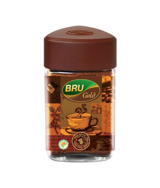 BRU Gold Instant Coffee (100 g)