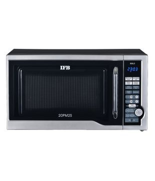 IFB 20 Litres 20PM2S Solo Microwave Oven - Metallic Silver