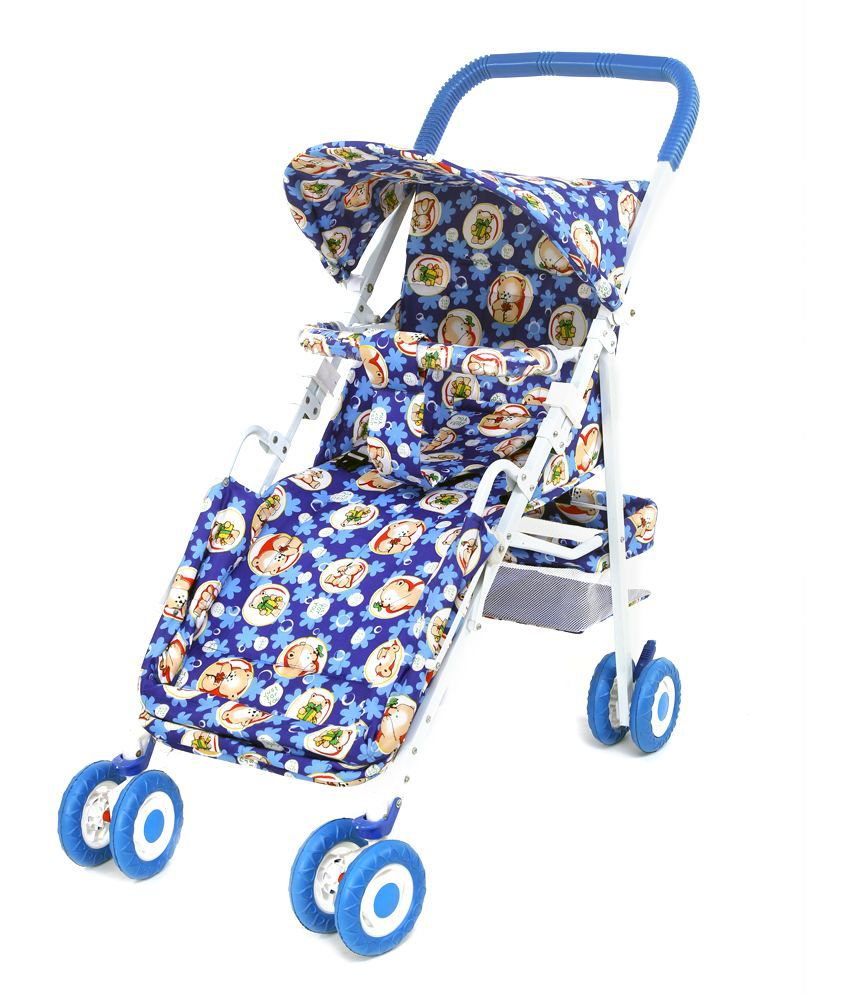 Toddler Stroller India Janda Multicolour Luxor Square Stroller Cum Pram