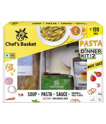 Chefs Basket White Sauce Pasta and Soup Dinner Kit