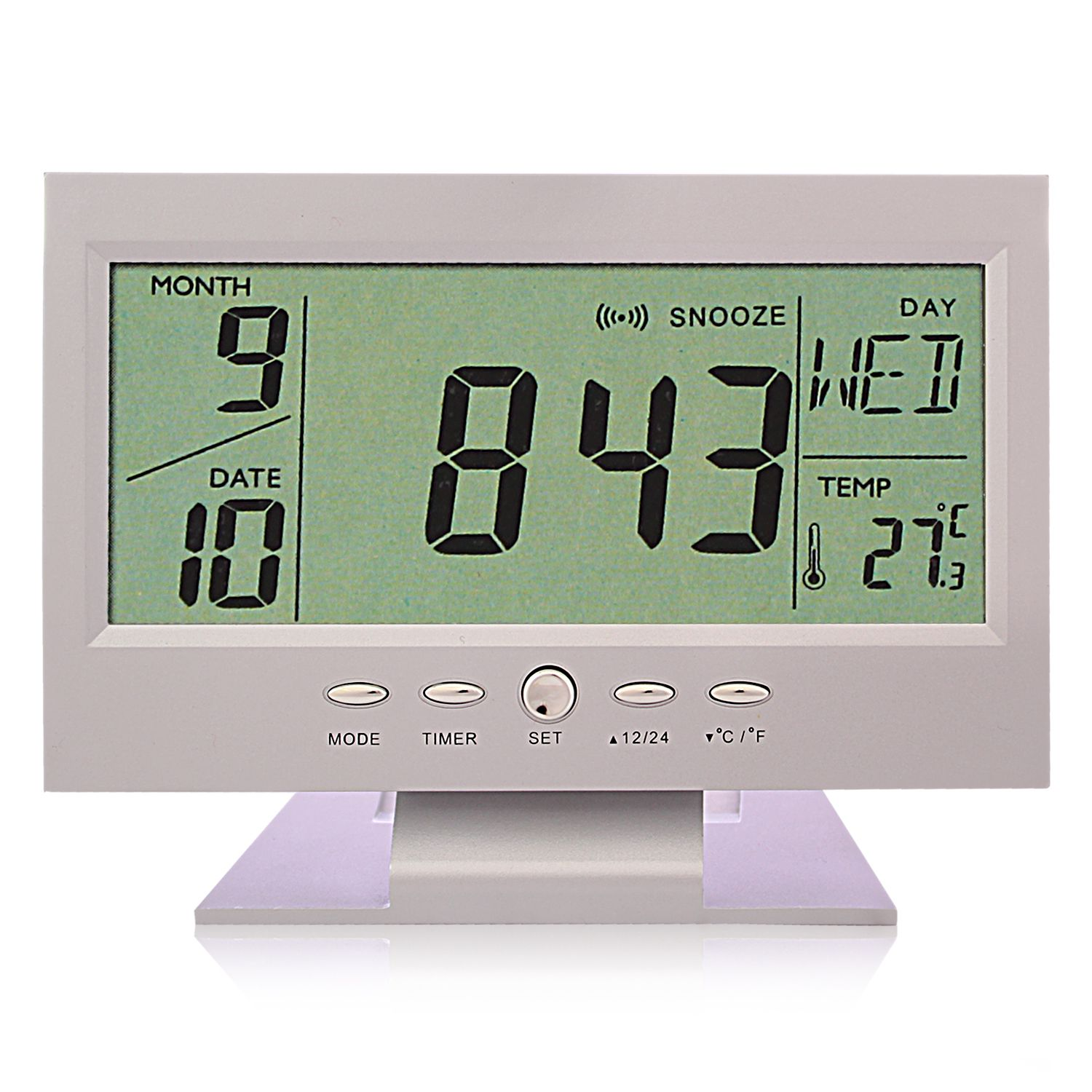 Digital Desk Clock Fieesta Matte Digital Table Clock Buy Fieesta Matte