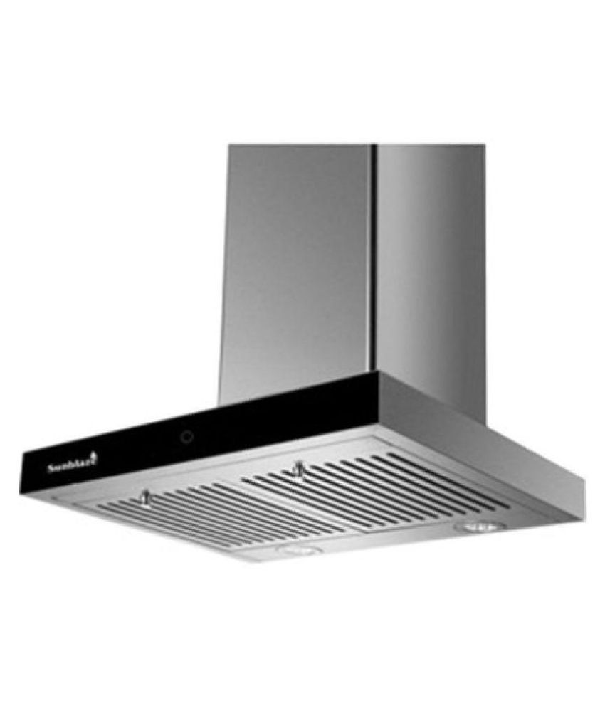 60 Cm Sunblaze Zenith 60 Cm 1250 M3 Hr 60 Cm Hood Chimney Price In India