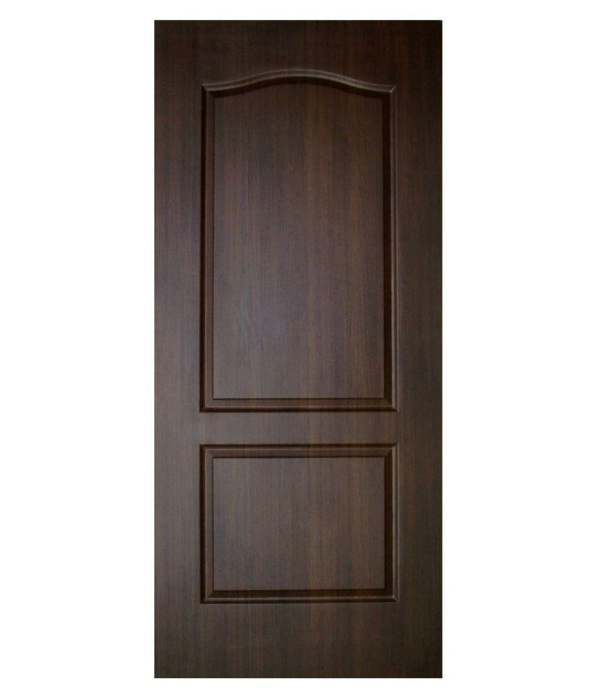 Buy Doors Online Buy Veerprabhu Doors Brown Panel Moulded Fiber Door Online At Low