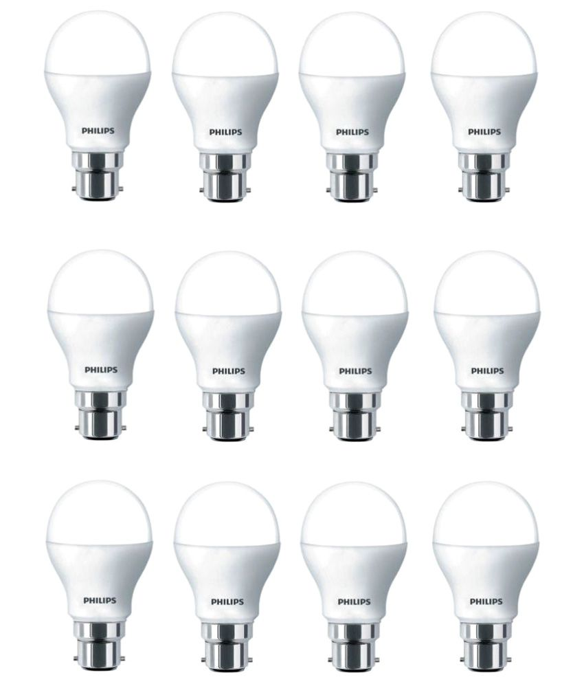 Philips 7w Led Bulb Cool Day Light Pack Of 12 Buy