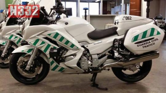 20140409 - NEW FASTER MOTORBIKES FOR THE GUARDIA CIVIL 2