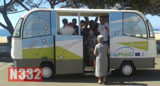 First Driverless Bus Launched in Spain 1