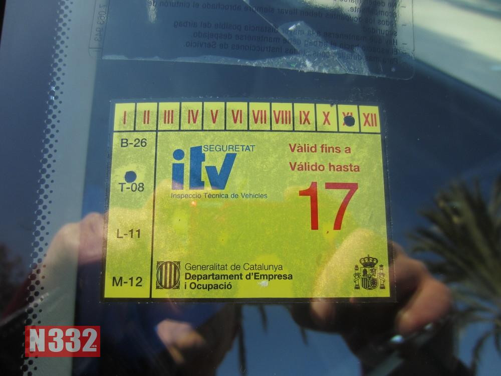 Fined for Falsifying ITV Sticker