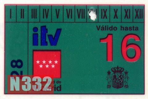 ITV Sticker