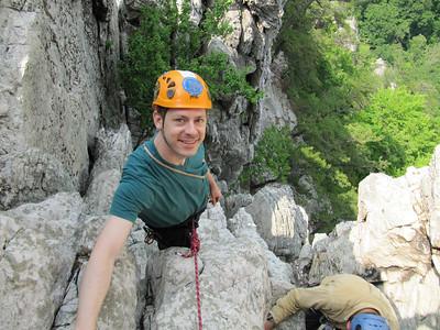Seneca Rocks with Dad and Matthew Marcinek