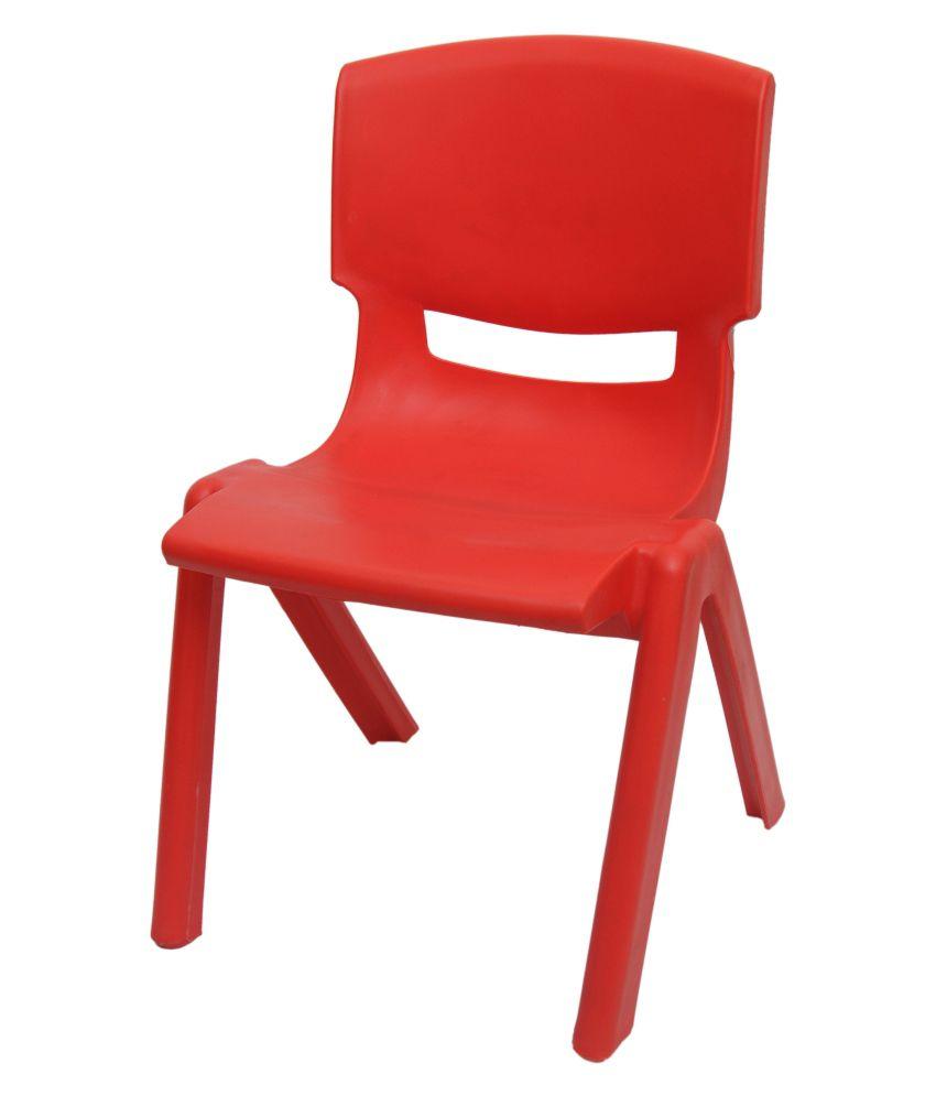 Tara Sales Red Plastic Kids Chair Buy Tara Sales Red