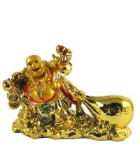 Odishabazaar Feng Shui Laughing Buddha Drag The Money ...