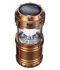 Docoss 6W Emergency Light bronze Portable Solar ...