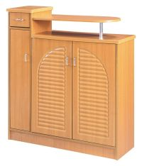 Multipurpose Storage Cabinet Organizer in Natural Finish