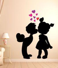 Impression Wall Cute Love Sticker Buy Art Impressions ...