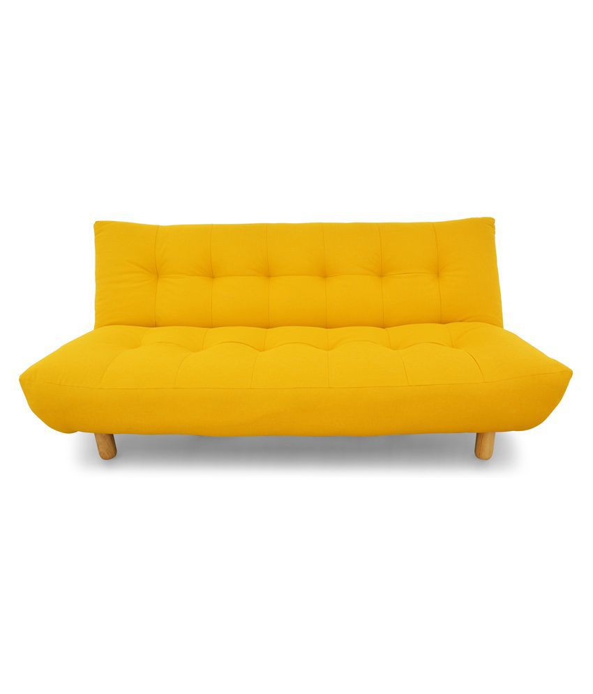 Yellow Sofa Online India Ethnic India Art Ayan Upholstery Sofa Cum Bed Buy Ethnic India Art
