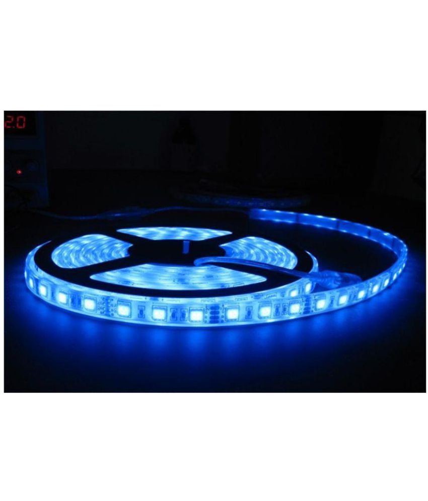 Galaxy Lighting Galaxy Lighting Blue 5m Led Strip Light With Adapter