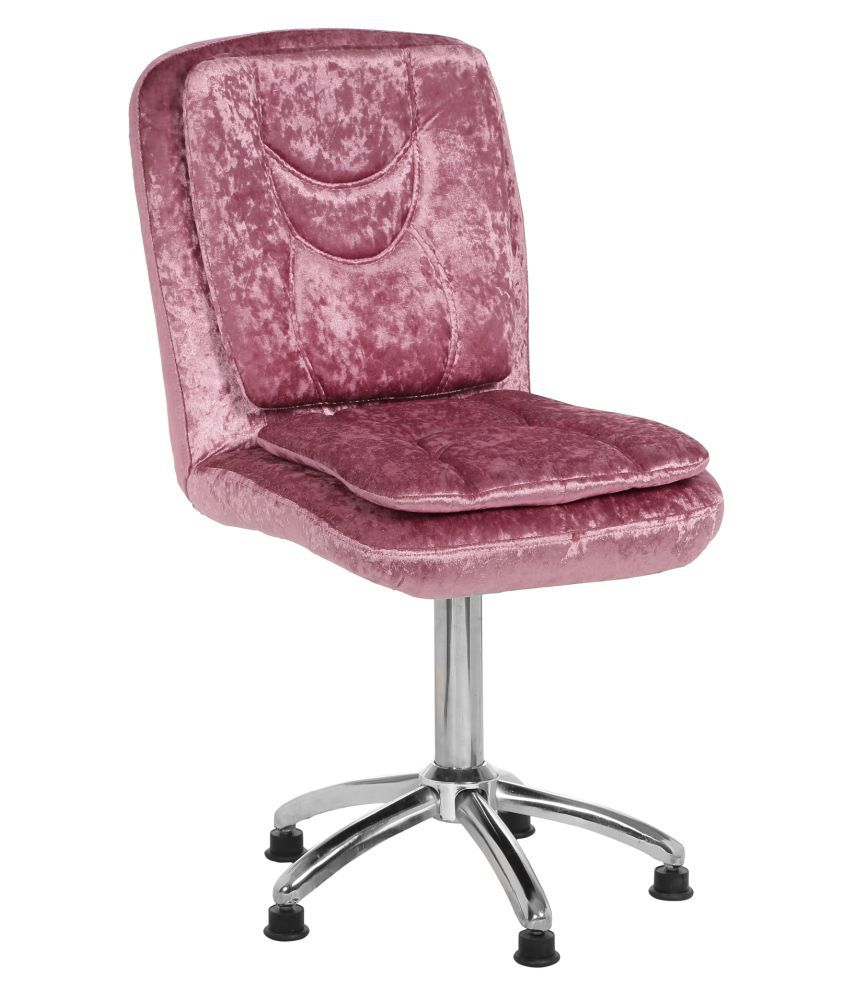 V J Interior Sinbracio Low Back Visitor Chair Pink