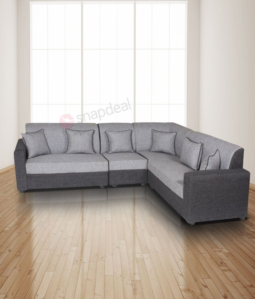 Sofa Set Online Gioteak Havana L Shaped Grey 2 2 1 Corner Sofa Set