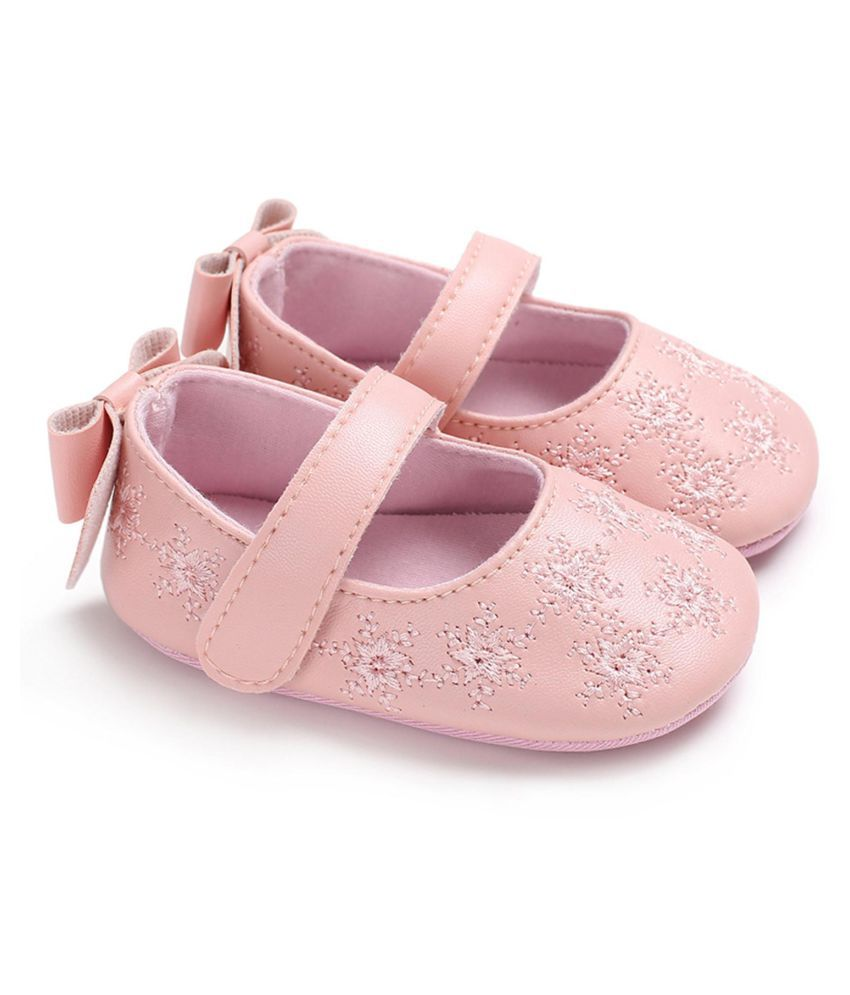 Newborn Elastic Shoes Newborn Toddler Baby Girl Crib Lighted Soft Soled Princess