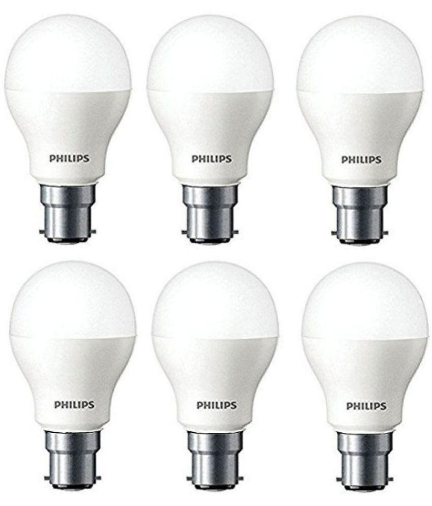 Philips 7w Led Bulb Cool Day Light Pack Of 6 Buy