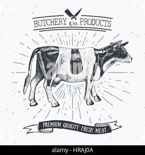 bull meat diagram