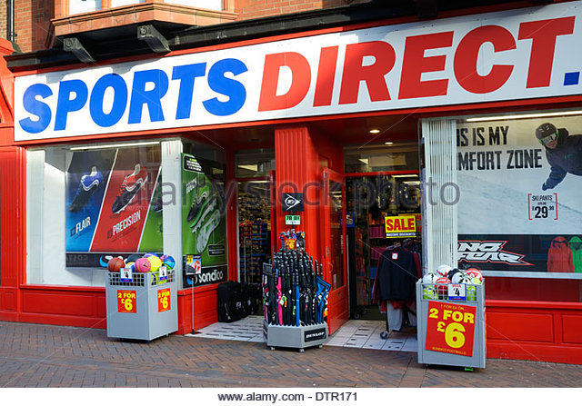 Shop Direkt 24 Sports Direct Store Stock Photos & Sports Direct Store