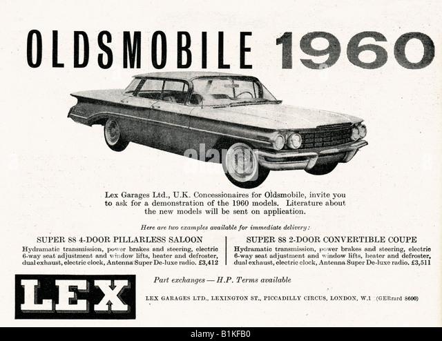 1950s oldsmobile cars