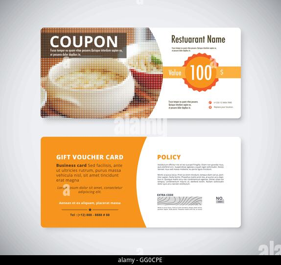 9 Food Voucher Templates Free Psd Vector Ai Eps Six Different - Lunch Voucher Template