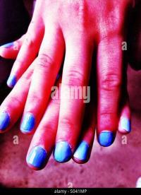 Painted Fingernails Stock Photos & Painted Fingernails ...