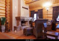 Old Style Living Room Chimney Stock Photos & Old Style ...