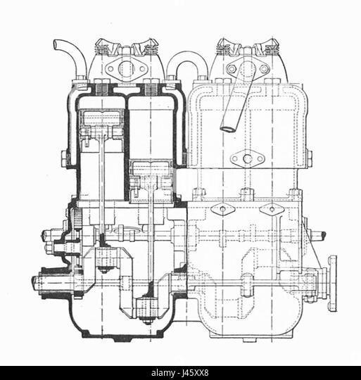 2 stroke engine animation diagram