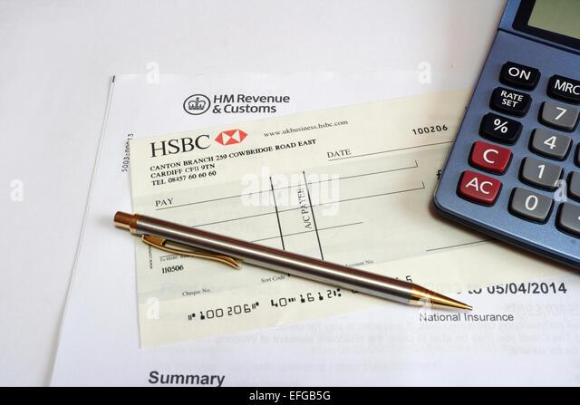 199n California E Postcard California Franchise Tax Board Hsbc Bank Cheque Stock Photos And Hsbc Bank Cheque Stock