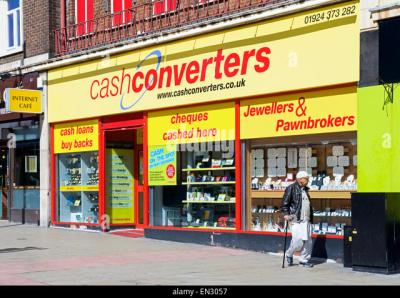 Pawnbrokers Loans Recession Stock Photos & Pawnbrokers Loans Recession Stock Images - Alamy