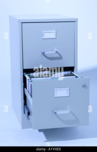 Blue File Cabinet Stock Photos & Blue File Cabinet Stock