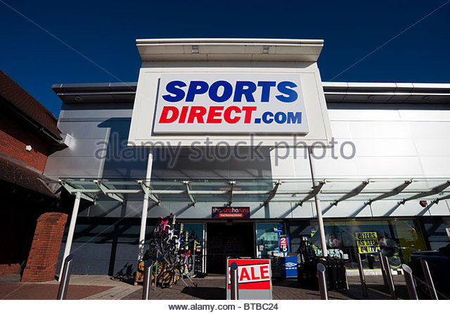 Shop Direkt 24 Sports Direct Uk Stock Photos & Sports Direct Uk Stock