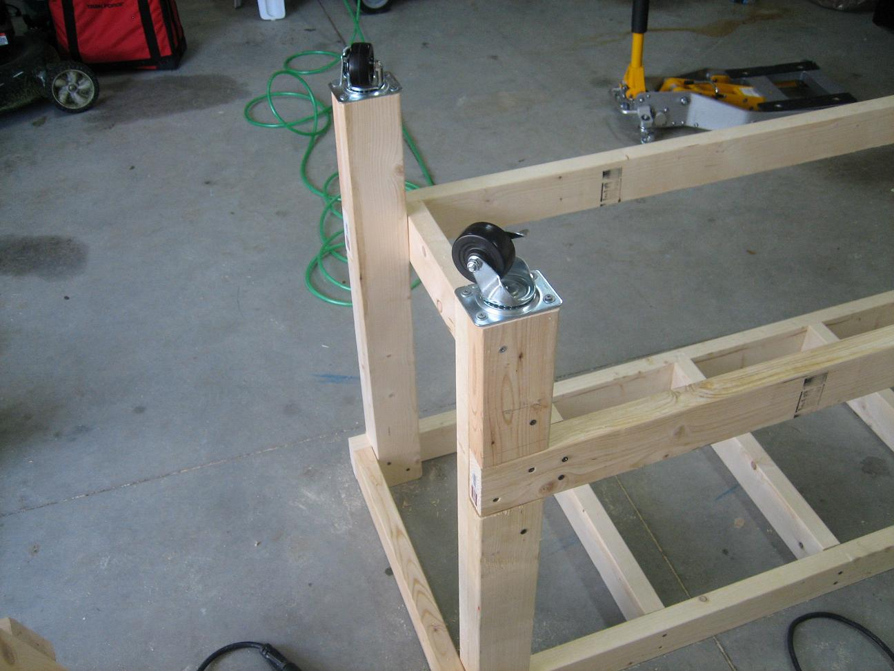 Woodwork Building Workbench Legs Pdf Plans