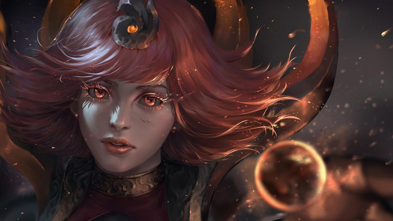 Animated Fire Wallpaper Elementalist Lux Community Creations League Of Legends