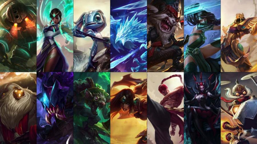 New free champion rotation: Lee Sin, Bard, Twitch and more!