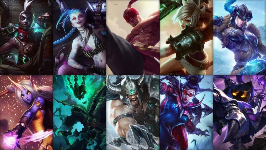 New free champion rotation: Ekko, Jinx, Lee Sin and more!