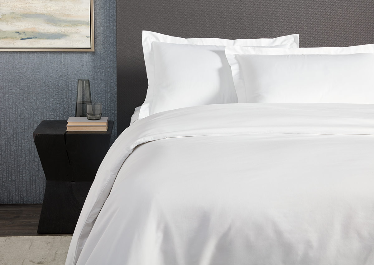 Duvet And Cover White Percale Duvet Cover Pillow Sham Set Shop Cotton Percale Hotel Linens From Sofitel Boutique