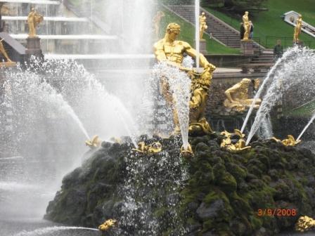 вода и золото